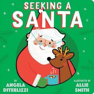 Seeking a Santa - Angela Diterlizzi - cover