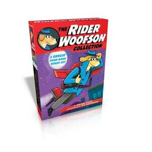 The Rider Woofson Collection: The Case of the Missing Tiger's Eye; Something Smells Fishy; Undercover in the Bow-Wow Club; Ghosts and Goblins and Ninja, Oh My! - Walker Styles - cover