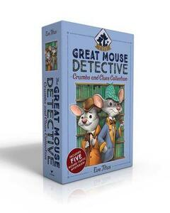 The Great Mouse Detective Crumbs and Clues Collection: Basil of Baker Street; Basil and the Cave of Cats; Basil in Mexico; Basil in the Wild West; Basil and the Lost Colony - Eve Titus - cover