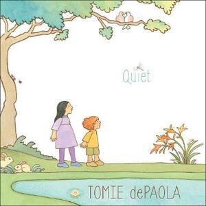 Quiet - Tomie dePaola - cover
