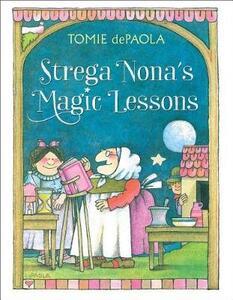 Strega Nona's Magic Lessons - Tomie dePaola - cover