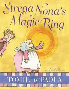 Strega Nona's Magic Ring - Tomie DePaola - cover