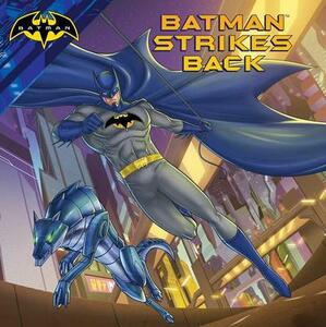 Batman Strikes Back - R J Cregg - cover
