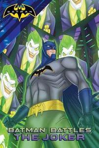 Batman Battles the Joker - cover