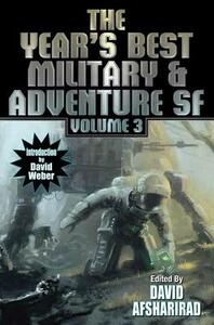 Year's Best Military and Adventure SF 2016 - David Afsharirad - cover