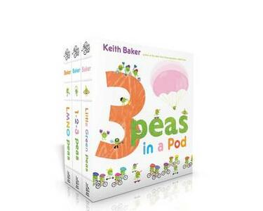 3 Peas in a Pod: LMNO Peas; 1-2-3 Peas; Little Green Peas - Keith Baker - cover