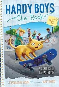 A Skateboard Cat-Astrophe - Franklin W Dixon - cover