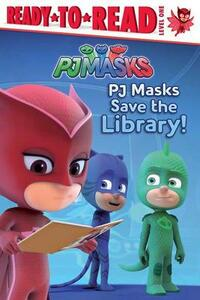 PJ Masks Save the Library! - cover