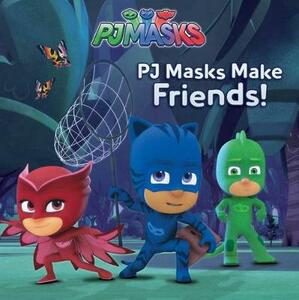 Pj Masks Make Friends! - cover