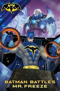 Batman Battles Mr. Freeze - cover