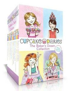 The Baker's Dozen Collection: Katie and the Cupcake Cure; MIA in the Mix; Emma on Thin Icing; Alexis and the Perfect Recipe; Katie, Batter Up!; Mia's Baker's Dozen; Emma All Stirred Up!; Alexis Cool as a Cupcake; Katie and the Cupcake War; Mia's Boiling Point; Etc. - Coco Simon - cover