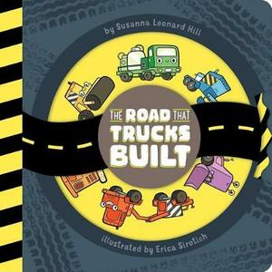 The Road That Trucks Built - Susanna Leonard Hill - cover