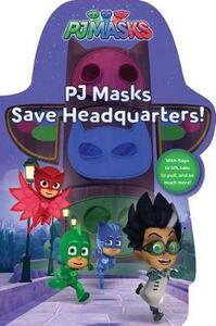 Pj Masks Save Headquarters! - cover