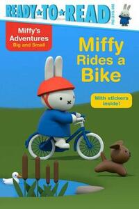 Miffy Rides a Bike - cover