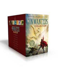 The Unwanteds Collection: The Unwanteds; Island of Silence; Island of Fire; Island of Legends; Island of Shipwrecks; Island of Graves; Island of Dragons - Lisa McMann - cover