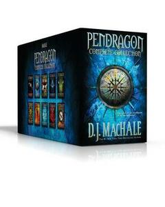 Pendragon Complete Collection: The Merchant of Death; The Lost City of Faar; The Never War; The Reality Bug; Black Water; The Rivers of Zadaa; The Quillan Games; The Pilgrims of Rayne; Raven Rise; The Soldiers of Halla - D J Machale - cover
