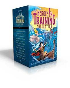 Heroes in Training Olympian Collection Books 1-12: Zeus and the Thunderbolt of Doom; Poseidon and the Sea of Fury; Hades and the Helm of Darkness; Hyperion and the Great Balls of Fire; Typhon and the Winds of Destruction; Apollo and the Battle of the Birds; Ares and the Spear of Fear; Etc. - Joan Holub,Suzanne Williams - cover