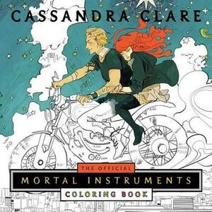 The Official Mortal Instruments Coloring Book - Cassandra Clare - cover