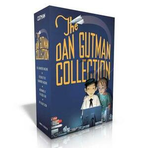 The Dan Gutman Collection: The Homework Machine; Return of the Homework Machine; Nightmare at the Book Fair; The Talent Show - Dan Gutman - cover
