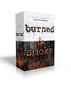 Burned & Smoke - Ellen Hopkins - cover