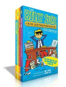 The Billy Sure Kid Entrepreneur Collection: Billy Sure Kid Entrepreneur; Billy Sure Kid Entrepreneur and the Stink Spectacular; Billy Sure Kid Entrepreneur and the Cat-Dog Translator; Billy Sure Kid Entrepreneur and the Best Test - Luke Sharpe - cover
