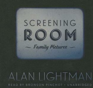 Screening Room: Family Pictures - Alan Lightman - cover