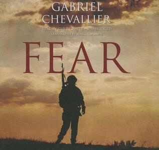 Fear - Gabriel Chevallier - cover