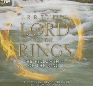 The Lord of the Rings: The Fellowship of the Ring - J R R Tolkien - cover
