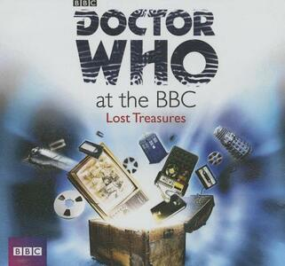 Doctor Who at the BBC: Lost Treasures - cover