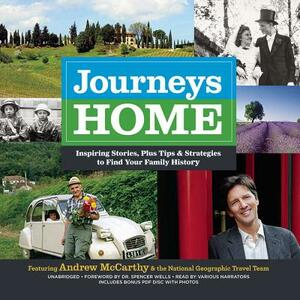 Journeys Home: Inspiring Stories, Plus Tips and Strategies to Find Your Family History - cover