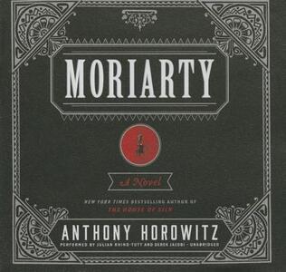 Moriarty - Anthony Horowitz - cover