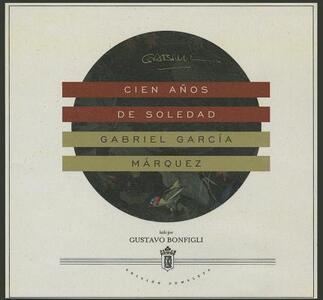 Cien Anos de Soledad - Gabriel Garcia Marquez - cover