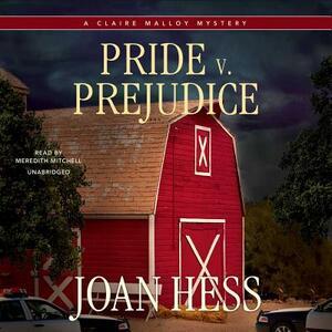Pride V. Prejudice - Joan Hess - cover