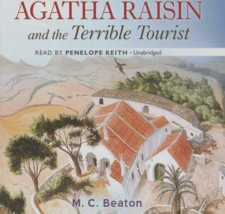 Agatha Raisin and the Terrible Tourist - M C Beaton - cover