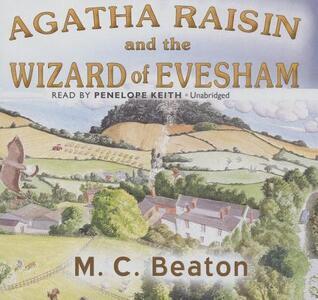 Agatha Raisin and the Wizard of Evesham - M C Beaton - cover