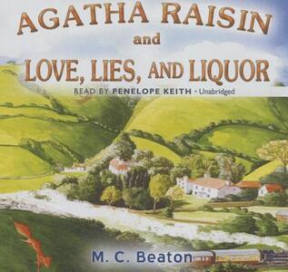 Agatha Raisin and Love, Lies, and Liquor - M C Beaton - cover