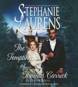 The Tempting of Thomas Carrick - Stephanie Laurens - cover