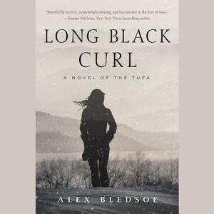 Long Black Curl - Alex Bledsoe - cover