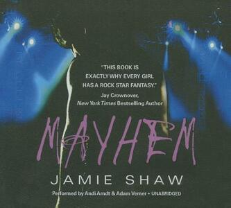 Mayhem - Jamie Shaw - cover