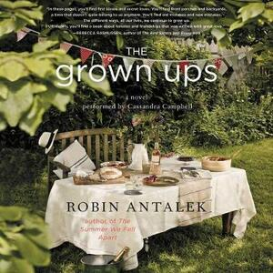 The Grown Ups - Robin Antalek - cover