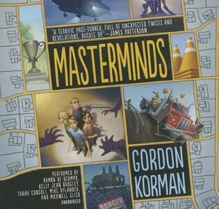 Masterminds - Gordon Korman - cover