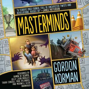 Masterminds - Gordon Korman - cover