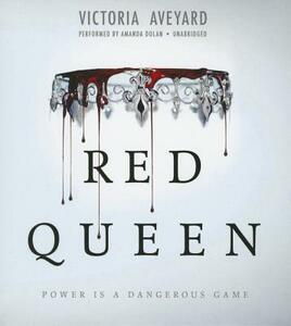Red Queen - Victoria Aveyard - cover