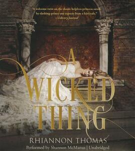 A Wicked Thing - Rhiannon Thomas - cover