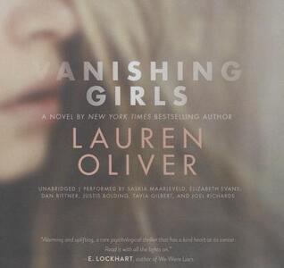 Vanishing Girls - Lauren Oliver - cover