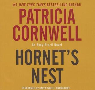 Hornet's Nest - Patricia Cornwell - cover