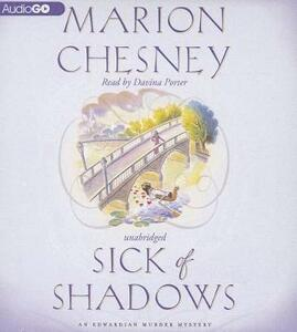 Sick of Shadows - M C Beaton Writing as Marion Chesney - cover