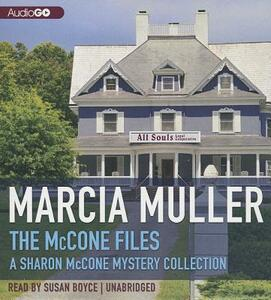 The McCone Files - Marcia Muller - cover