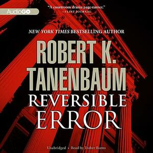 Reversible Error - Robert K Tanenbaum - cover
