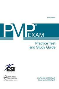 PMP  Exam Practice Test and Study Guide - J. LeRoy Ward,Ginger Levin - cover